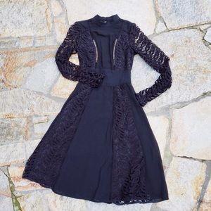 ASOS Open Back Lace Dress